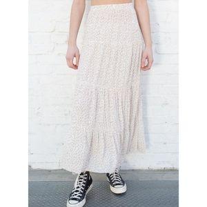 H&M Maxi Dalmatian Print Maxi Skirt